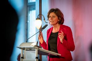Malu Dreyer begeisterte mit ihrer Rede