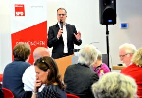 Markus Rinderspacher, Vorsitzender der SPD-Fraktion im Bayerischen Landtag
