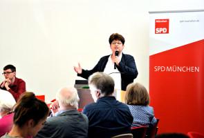 Neugewählt: Micky Wenngatz, stellvertretende Münchner Parteivorsitzende