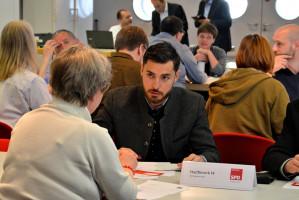 Serhat Sevengül, Bezirkstagskandidat im Münchner Nordosten