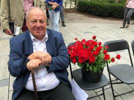 der ehemalige Wiesn-Stadtrat und Weggefährte Helmut Schmid