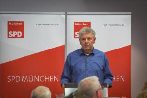 OB Dieter Reiter spricht zum Parteitag