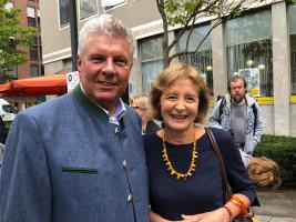OB Dieter Reiter und Hildegard Kronawitter