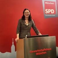 Claudia Tausend, MdB - die Münchner SPD-Vorsitzende und Kandidatin im Münchner Osten
