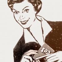 Wahlplakat aus den 50er Jahren