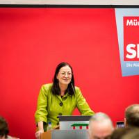 Claudia Tausend, Vorsitzende der Münchner SPD