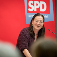 Parteivorsitzende Claudia Tausend