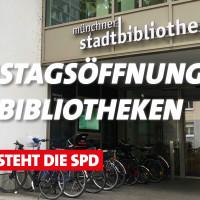Münchner Stadtbibliotheken öffnen auch samstags