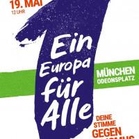 """Demoaufruf, """"Ein Europa für Alle"""""""