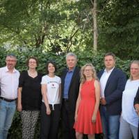 OB Reiter und BM Strobl mit dem Kompetenzteam