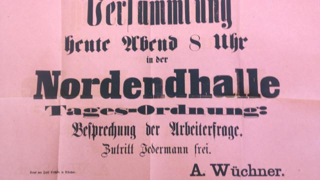 Einladung zur Gründungsversammlung am 1. März 1869