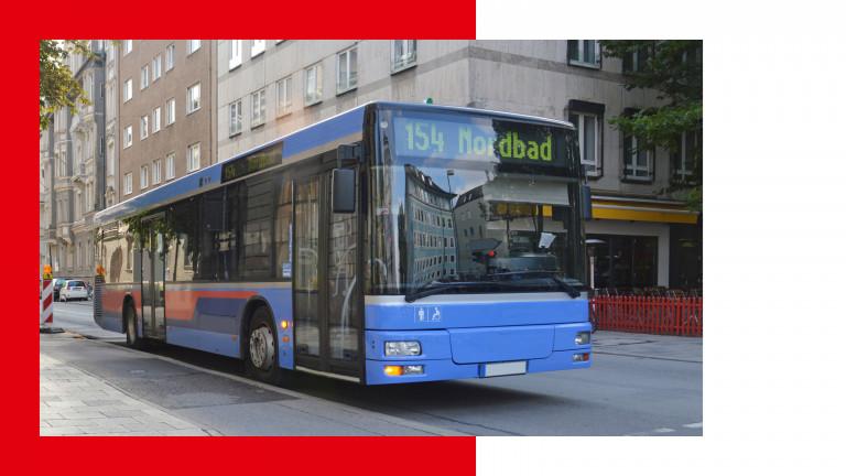 Linien-Bus der Münchner Verkehrsgesellschaft